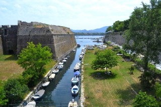 Corfu sightseeing Philoxenia hotel Old Venetian Fortress has an amazing sea view