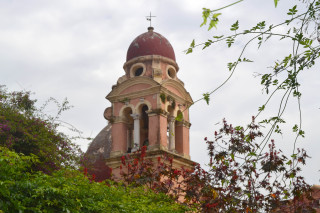 Corfu sightseeing Philoxenia hotel the Greek Orthodox Church of Saint Spyridon was constructed in the 1580s