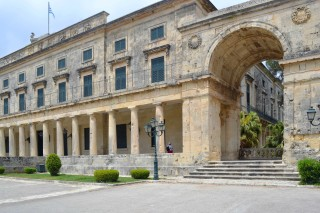 about corfu philoxenia hotel palace of saint michael and george