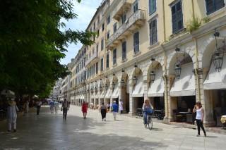 corfu town walks