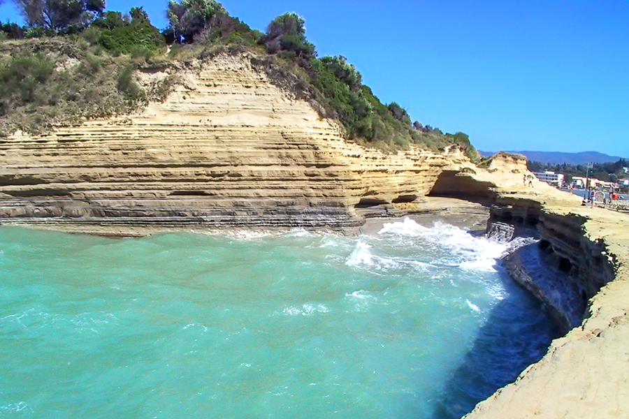canal d'amour beach corfu