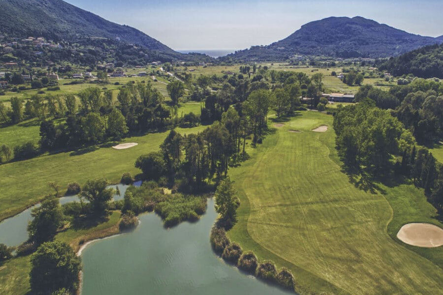 ermones corfu philoxenia hotel golf club offers many courses in a large, green location