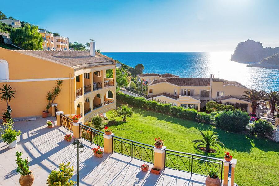 ermones corfu philoxenia seaside hotel