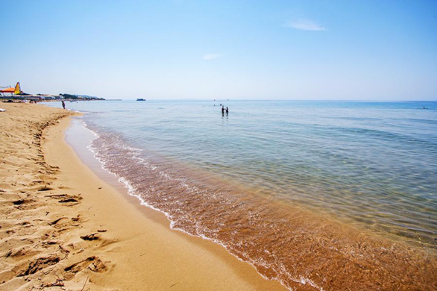 issos beach corfu