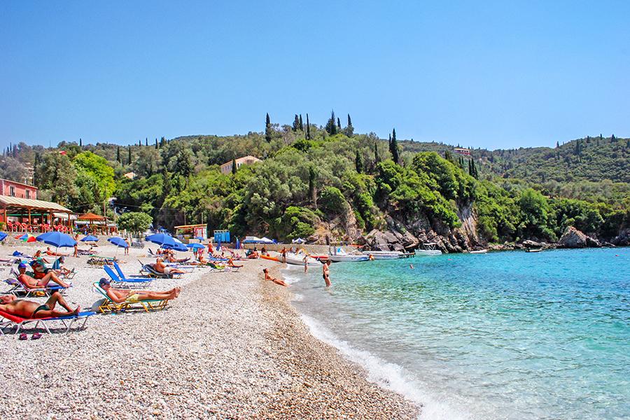 liapades beach corfu