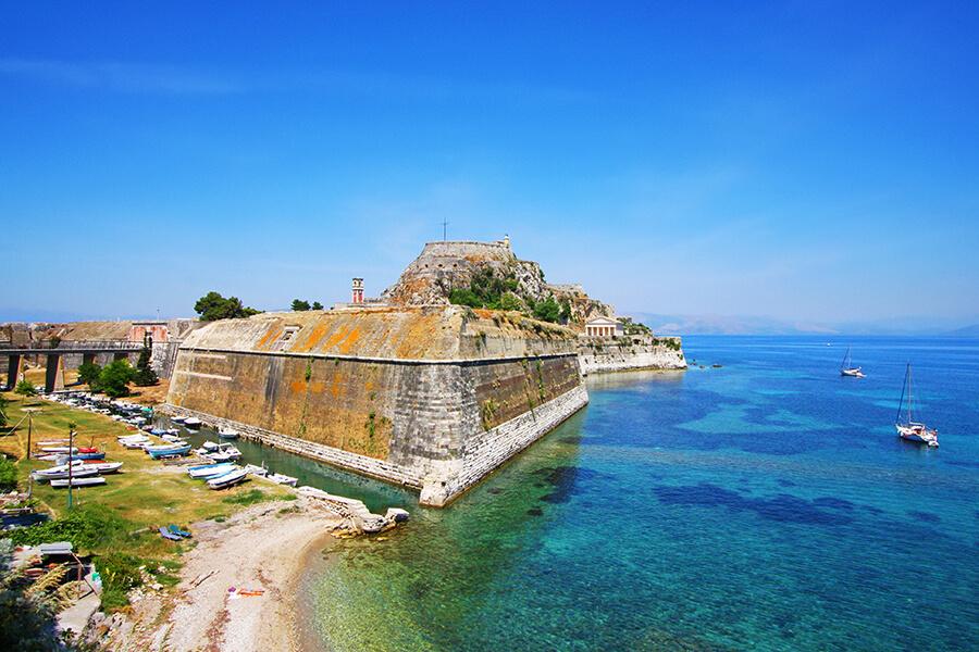 old fortress corfu